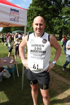 Simon Buckden is running 100 marathons in 100 weeks to raise awareness of PTSD & funds for Help For Heroes Help For Heroes, Amazing Man, Marathons, Ptsd, Cyprus, Triathlon, A Good Man, Raising, The 100