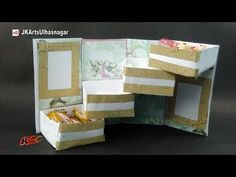 Tower Gift Box With Shelves Tutorial | Gift box Idea | How to make | JK Arts 969 - YouTube