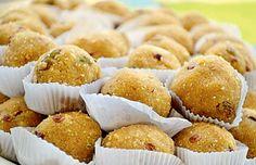Pune foodies rejoice! The Madhya Pradesh Food Festival is here. Seen above: Churma Ladoo   #Pune #Food