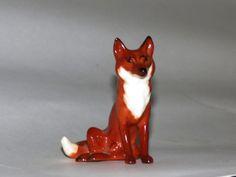 vintage Beswick Fox figurine  Beswick seated by RelativelyStable, $40.00