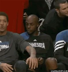 LMAO!!! First guy is like oh shit my bad. Other guy is thinking okay...mhm *head nod*