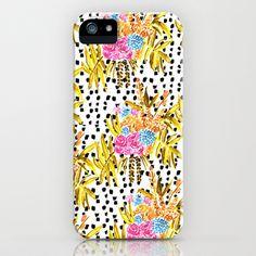 Patterned Bouquet II #iPhone & iPod Case by Bouffants and Broken Hearts - $35.00 #flowers #pattern