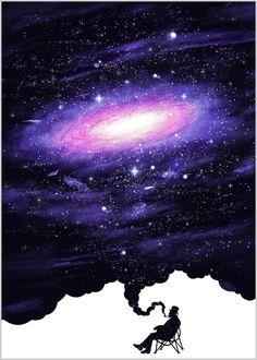 galaxy smoke