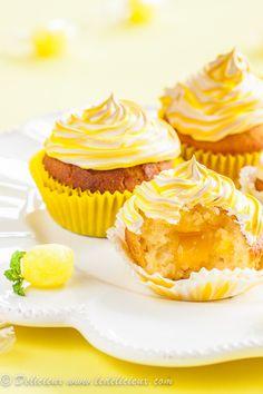 Lemon Meringue Cupcakes #recipe