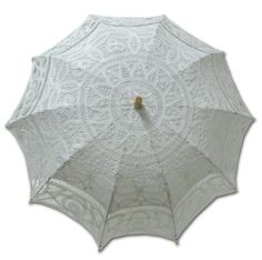 Adult Battenburg Lace Parasol Umbrella in Assorted Colors $33.98 (save $16.02) + Free Shipping