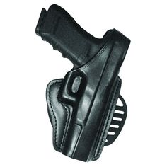 GandG Black Paddle Holster - Beretta 92 Compact Left Hand