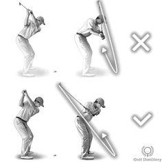 Over the Top swing error