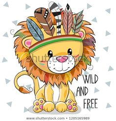 Illustration about Cute Cartoon tribal Lion with feathers on a white background…. Illustration about Cute Cartoon tribal Lion with feathers on a white background. Illustration of funny, indian, hippie – 129078965 Cartoon Cartoon, Cute Cartoon Animals, Lion Cartoon Drawing, Drawing Lips, Animal Drawings, Cute Drawings, Drawing Animals, Cartoon Mignon, Lapin Art