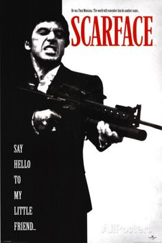 El precio del poder, Scarface Póster