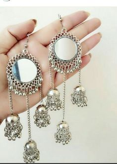 Jewellery Shops East Kilbride & Affordable Jewelry Stores Near Me Indian Jewelry Earrings, Jewelry Design Earrings, Silver Jewellery Indian, Fashion Earrings, Silver Jewelry, Fashion Jewelry, Silver Earrings, Silver Ring, Jhumkas Earrings