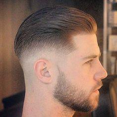 bald fade with beard - Google Search