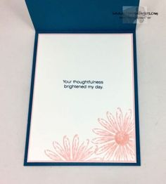 Stampin' Up! Colorful & Delightful Daisy Thank You   Stamps – n - Lingers