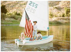 Vintage Americana Kids Photoshoot by Acres of Hope Photography via marinagiller.com