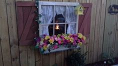 Old Town Window for Fall