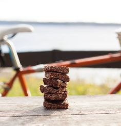 We're pleased to welcome @annabrones to the Always Riding blog! Anna is the author of several books including The Culinary Cyclist Fika: The Art of the Swedish Coffee Break and Hello Bicycle. . In her first Always Riding outing Anna beats the bonk with these delicious peanut butter and chocolate granola squares. One (or two) for the jersey pocket we thinks!