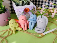 Cute Polymer Clay, Cute Clay, Polymer Clay Crafts, Diy Clay, Diy And Crafts, Arts And Crafts, Keramik Design, Clay Art Projects, Paperclay