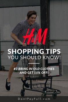 10 Brilliant H&M Shopping Tips That Will Save You Money - Finance tips, saving money, budgeting planner Best Money Saving Tips, Money Tips, Saving Money, Frugal Living Tips, Frugal Tips, Save Your Money, Ways To Save Money, Savings Planner, Budgeting Tips