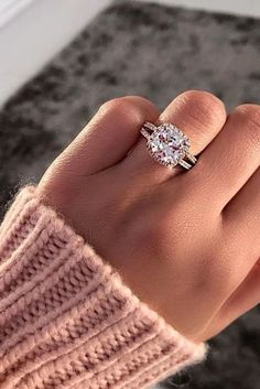 42 Most Popular And Trendy Engagement Rings For Women ❤️ engagement rings for women cheap halo beautiful ring ❤️ See more: http://www.weddingforward.com/engagement-rings-for-women/ #weddingforward #wedding #bride #engagementrings