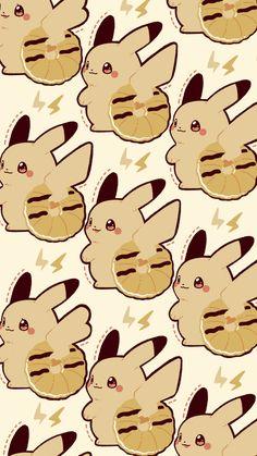 Iphone Wallpaper Kawaii, Cute Pokemon Wallpaper, Halloween Wallpaper Iphone, Cute Cartoon Wallpapers, Phone Wallpapers, Pikachu Memes, Pikachu Raichu, Pokemon Eeveelutions, Sheldon The Tiny Dinosaur