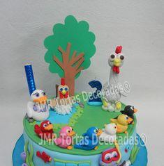 Torta Canciones de la Granja | JMR Tortas Decoradas 18th Cake, Childrens Party, Birthday Cake, Desserts, Anton, Ideas, Home, Party Photos, Bebe
