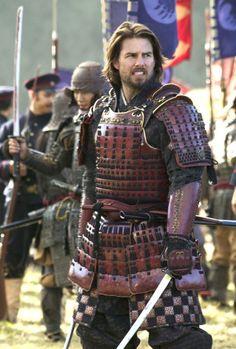 "Tom Cruise en ""El último Samurái"" (The Last Samurai), 2003"