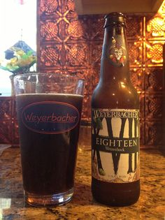 Eighteen by Weyerbacher Brewing Company; Easton, PA.