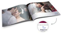 Embedding a Longaccess Certificate in a wedding album.