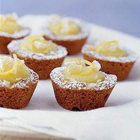 Gingerbread-Lemon Tarts (via Parents.com)