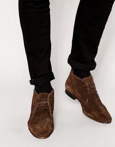 Buy Geox Claudio Suede Chukka Boots Online at johnlewis.com ...