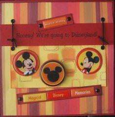 Mickey Mouse Scrapbook Ideas