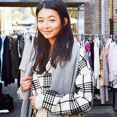 BONDI MARKET #emmetrend #fashionblogger #stripes #streetchic #streetstyle #streetfashion #textile #print #zara #blusa #cachemire #scarf #vintage #jeans #denim #boots #isabelmarant #fashion #style #trend #styleblog #market #bondi #blogger #moda #credit #to @_yanyanchan