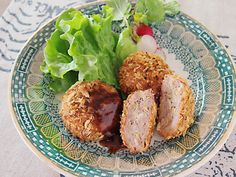 キャベツたっぶりヘルシー! 揚げないメンチカツ Joycook Japan Minced meet and shredded cabbage cutlet cooked with the joycook http://ameblo.jp/joycook-japan/entry-11782841106.html