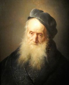 """Jan Lievens """"Old Bearded Man Wearing a Cap"""", 1629 (The Netherlands, Baroque / Dutch Golden Age, 17th cent.)"""