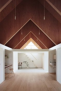 This striking design was created by mA-style Architects for a young couple living in Yaizu of the Shizuoka Prefecture of Japan.