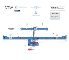 LaGuardia Airport Delta  LaGuardia International Airport Map