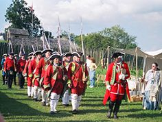 Fort Loudoun State Park - Vonore, Tennessee = Reenactment of Battle, boating, boat docks, water skiing, fishing, Tellico Lake, hiking, picnic, visitor center, museum, programs, events