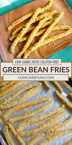 Easy Low Carb Lunches, Low Carb Dinner Recipes, Keto Recipes, Cooking Recipes, Lunch Recipes, Free Recipes, Easy Meals, Healthy Recipes, Fried Green Beans