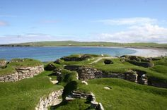 The Neolithic settlement of Skara Brae, on the island of Orkney, is the oldest building in Britain, dating from 3100 BC.