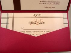 DIY Wedding Challenge: Semi DIY Pocket Fold Invitations - Project Wedding