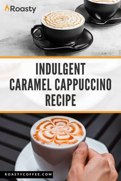 Hurry to your kitchen and try this cappuccino recipe! The caramel addition to this popular coffee beverage is just... *chef's kiss*. A perfect spin on the classic cappuccino.#coffee #cappuccino #coffeerecipe #espresso Caramel Cappuccino, Cappuccino Recipe, Cappuccino Coffee, Latte Recipe, Coffee Cream, Coffee Humor, Coffee Quotes, Coffee Brownies, Vietnamese Iced Coffee