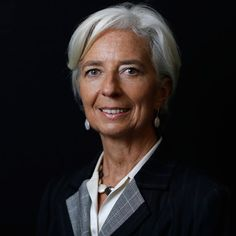 Christine Lagarde, 57, Managing Director of the International Monetary Fund #PowerfulWomen