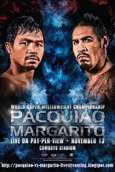 Pacquiao vs Margarito for WBC jr. Manny Pacquiao, Pacquiao Fight, Pacquiao Vs, Miguel Cotto, Facial Bones, Cowboys Stadium, Boxing Posters, Boxing History, Boxing