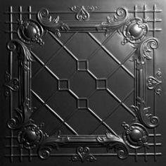 Bentley Black Ceiling Tiles