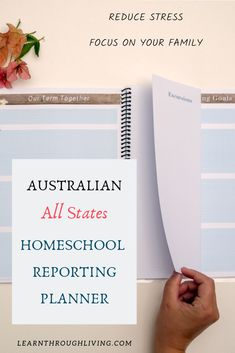 Are you an Australian registered Homeschooler looking to get rid of the reporting stress?  Shift your mindset and focus on your family while slowly chipping away at your reporting requirements. Beautifully designed to uplift you.  Look back at all your family's adventures in years to come.