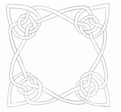 Tutorial for this Celtic Knot Design. >>Creative Doodling with Judy West: How to Design Celtic Knot Patterns Celtic Symbols, Celtic Art, Celtic Knots, Viking Designs, Celtic Knot Designs, Stained Glass Patterns, Stained Glass Art, Celtic Drawings, Celtic Border