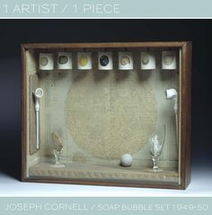 """Oh, Joseph Cornell . I've been an admirer of his since I was in high school. I actually went through a """"Cornell Phase"""" which involved search..."""