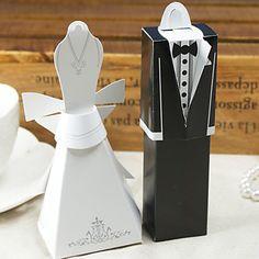 vestido formal e caixa favor tux (conjunto de 12) – BRL R$ 3,71