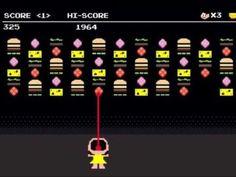 Magali devora comida em homenagem ao game Space Invaders