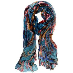 Joy Accessories Teal Paisley Scarf (17 AUD) ❤ liked on Polyvore featuring accessories, scarves, viscose scarves, teal scarves, paisley shawl, sparkly scarves and boho shawl