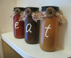 Eat Jars – a kitchen craft | Crafts by Amanda